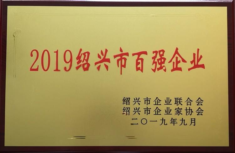 2019绍兴市百强企业